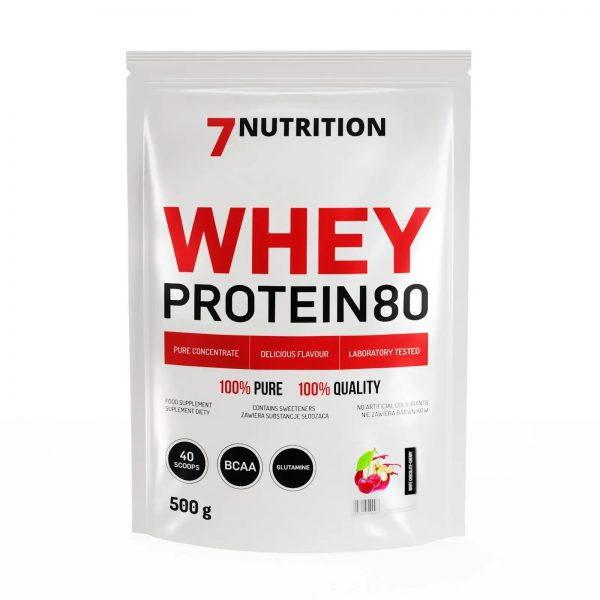 7Nutrition Whey Protein 80 - 500g