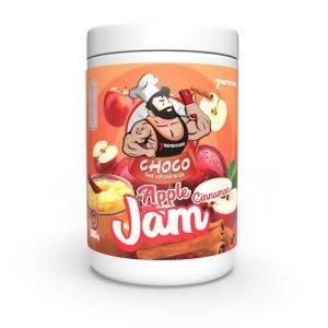 dżem jabłkowy z cynamonem bez cukru